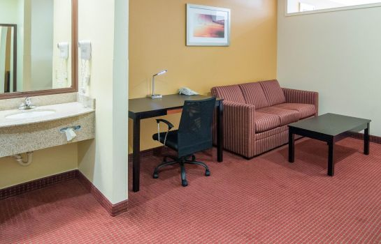 Chambre Quality Suites Houston IAH Airport - Beltway 8