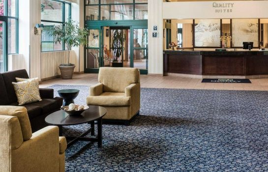 Hotelhalle Quality Suites Lake Wright - Norfolk Airport