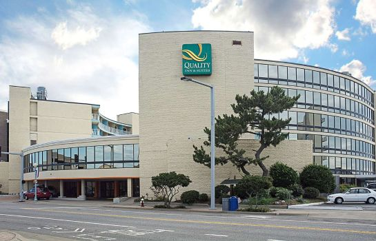 Außenansicht Quality Inn and Suites Oceanfront