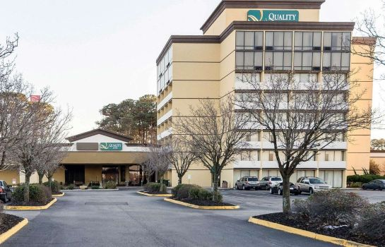 Exterior view Quality Inn Near Hampton Coliseum
