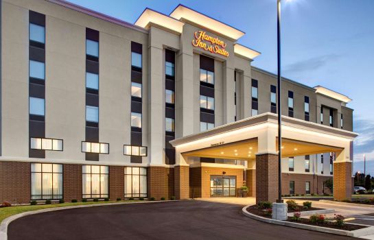Buitenaanzicht Hampton Inn - Suites Syracuse North Airport Area