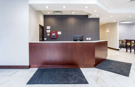 Hol hotelowy Clarion Inn & Suites Oxford East