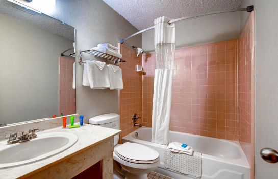 Bathroom Orangewood Inn & Suites