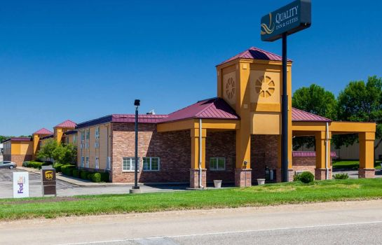 Buitenaanzicht Quality Inn and Suites Lincoln