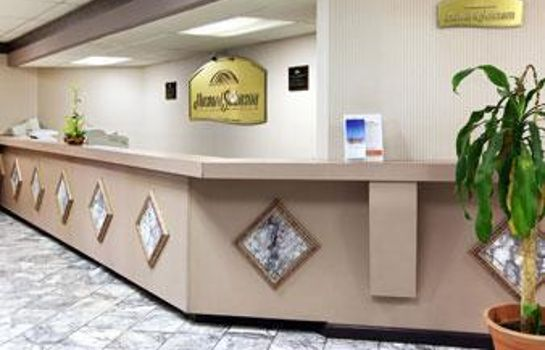 Hotelhalle HOWARD JOHNSON INN ROANOKE AIR