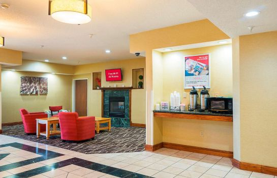 Lobby Red Roof Inn South Bend - Mishawaka Red Roof Inn South Bend - Mishawaka