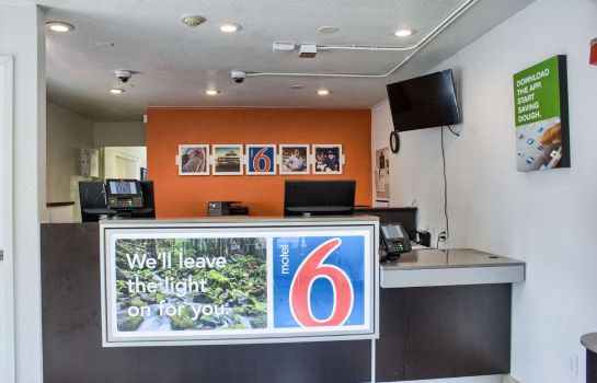 Hol hotelowy MOTEL 6 SEATTLE SOUTH