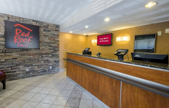 Hol hotelowy Red Roof Inn Parsippany
