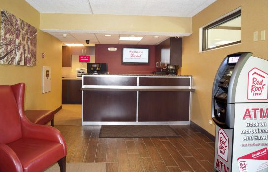 Vestíbulo del hotel Red Roof Inn Buffalo - Niagara Airport