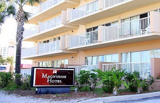 Vue extérieure MAGNUSON HOTEL CLEARWATER BEAC