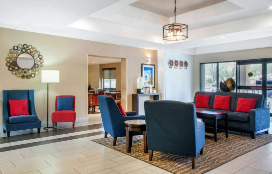 Hall de l'hôtel Comfort Inn Chandler - Phoenix South I-1