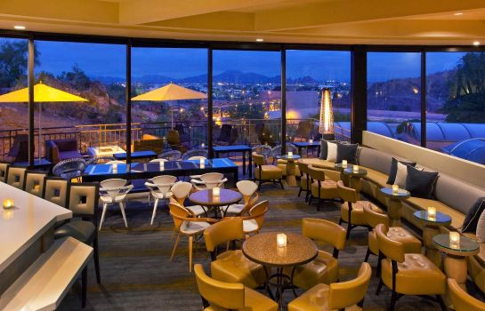 Hotel-Bar Phoenix Marriott Tempe at The Buttes