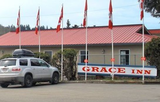 Buitenaanzicht GRACE INN QUESNEL