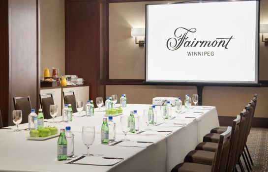 Conference room Fairmont Winnipeg