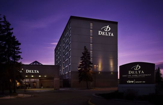 Exterior view Delta Hotels Sault Ste. Marie Waterfront