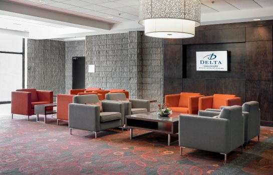 Hol hotelowy Delta Saguenay Hotel & Conference Center
