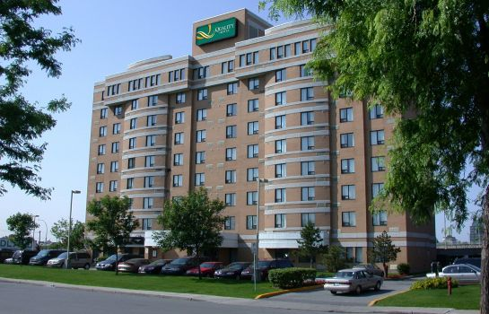 Exterior view Quality Hotel Montreal East