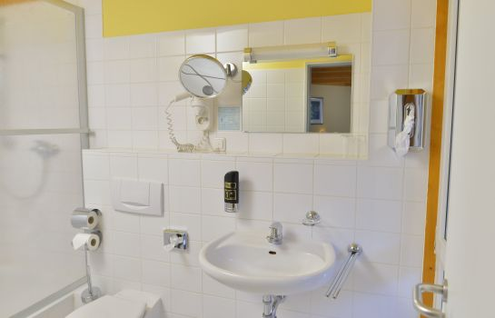 Bagno in camera Waldhotel & Restaurant