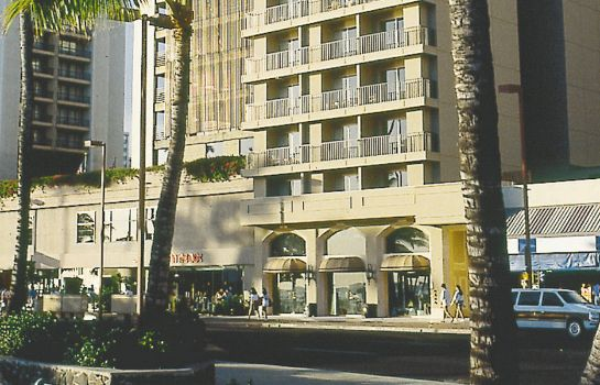 Exterior view Aston Waikiki Beachside Hotel