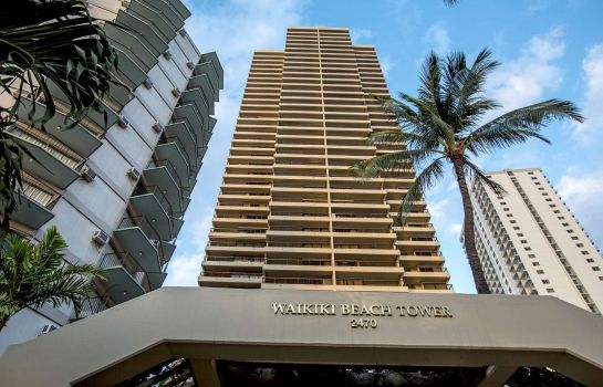 Exterior view Residences Waikiki Beach Tower