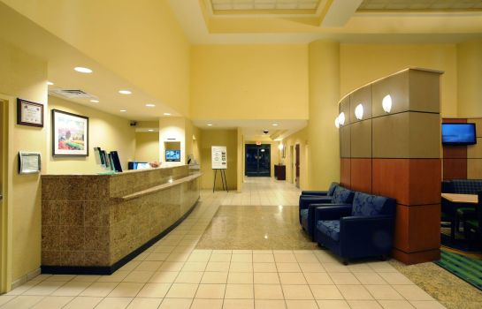 Hotelhalle SpringHill Suites Oklahoma City Quail Springs
