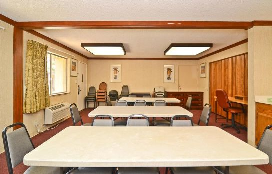 Conference room Americas Best Value Inn Merced