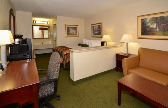Zimmer BEST WESTERN CHARLESTON INN