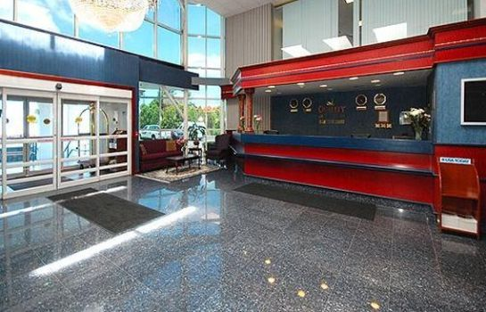 Hotelhalle Quality Inn & Suites Albany Airport