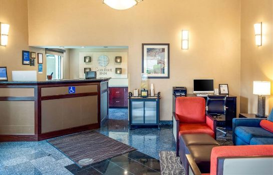 Hotelhalle Comfort Inn Redwood City