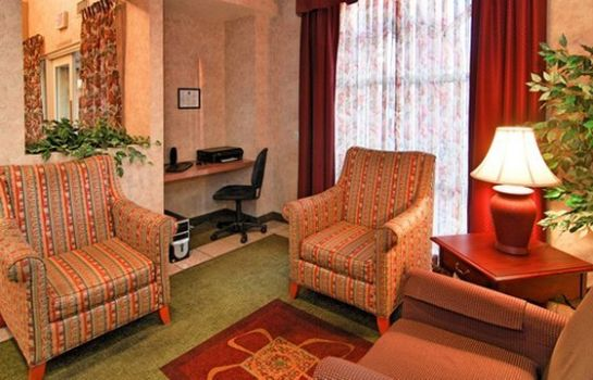 Hotelhalle Comfort Inn Lathrop - Stockton Airport