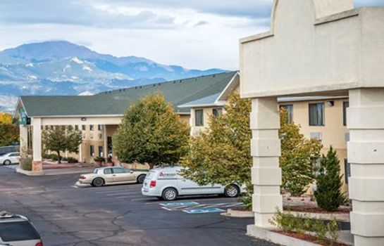 Außenansicht Quality Inn Colorado Springs Airport