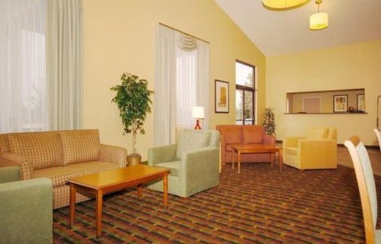Hall de l'hôtel Quality Inn Colorado Springs Airport