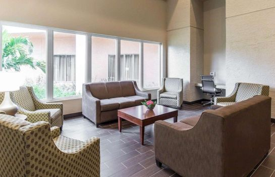 Lobby Comfort Inn and Executive Suites