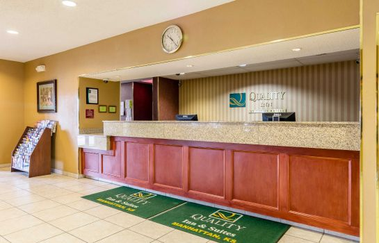 Hotelhalle Quality Inn & Suites Manhattan