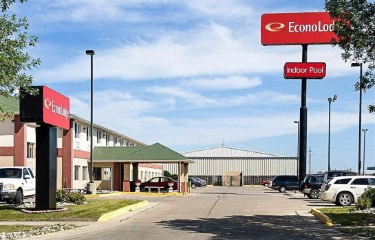 Vista esterna Econo Lodge West I-29 West Acres Mall