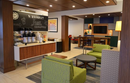 Hotelhalle Holiday Inn Express PITTSBURGH-BRIDGEVILLE