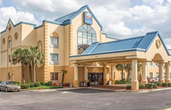 Außenansicht Comfort Inn and Suites Ft.Jackson Mainga