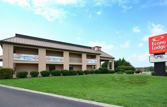 Buitenaanzicht Econo Lodge Inn & Suites East
