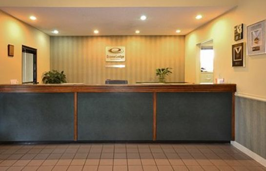 Hotelhalle Econo Lodge Inn & Suites East