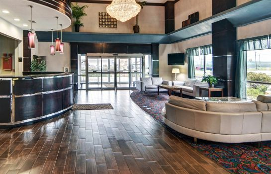 Lobby Comfort Suites Mineral Wells