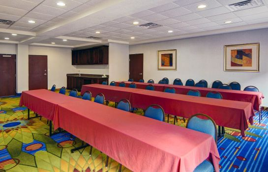 Conference room Comfort Suites Mineral Wells