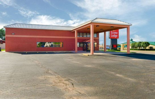 Buitenaanzicht Econo Lodge Childress