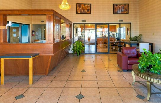 Lobby Econo Lodge Childress