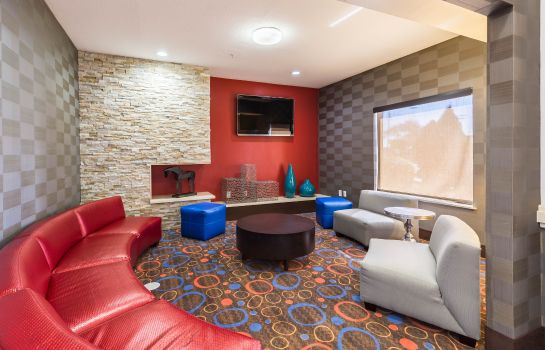 Hotelhalle Econo Lodge Inn and Suites East Houston