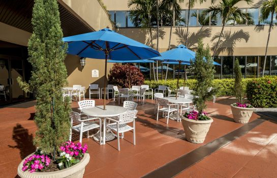 Terrasse Crowne Plaza MIAMI AIRPORT