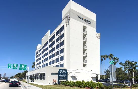 Vista esterna Four Points by Sheraton Fort Lauderdale Airport/Cruise Port