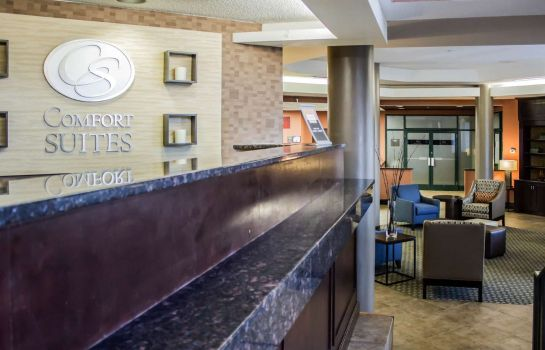 Lobby Comfort Suites Raleigh Durham Airport/RTP