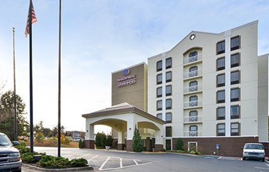 Vista esterna Comfort Suites University - Research Park