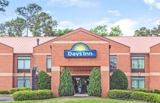 Vue extérieure Days Inn by Wyndham College Park/Atlanta /Airport South