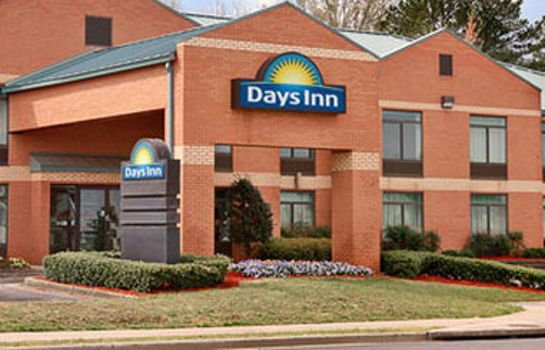 Exterior view DAYS INN COLLEGE PARK ATLANTA